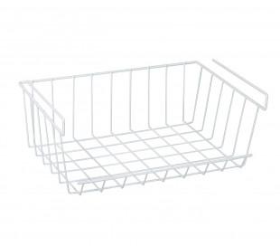 Organizador para debajo de estantes 31x16.5x31.5 cm para nevera ahorra espacio