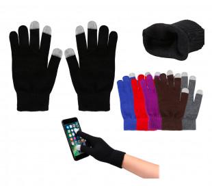 Guantes para teléfono móvil y pantalla táctil (Varios colores - Talla única)