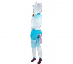 Pijama entero de felpa Cosplay Animal UNICORNIO tallas de la XS a la XL