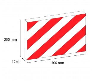 1810 05 Geko Box Large 2 paneles adhesivos a prueba de golpes garaje 50x24 cm