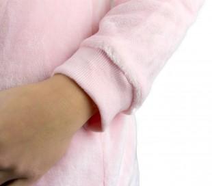 B1843 Pijama de felpa entero COSPLAY UNISEX mod. Arcoiris talla de la XS a XXL