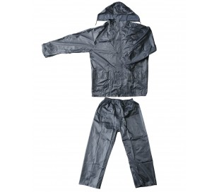 EF016 Traje completo para la lluvia chaqueta y pantalones de nylon resistentes