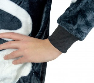 B1822 Pijama Unisex Cosplay ESQUELETO para niños de 4 a 14 años