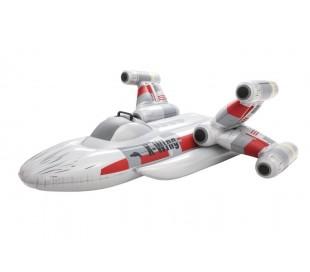 41115 Cavalgable Nave de batalla galactica inflable BESTWAY 118x87.5cm +3 años