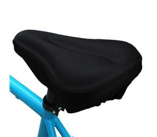 Sillín asiento universal de gel para la bicicleta de tamaño mediano ergonómico