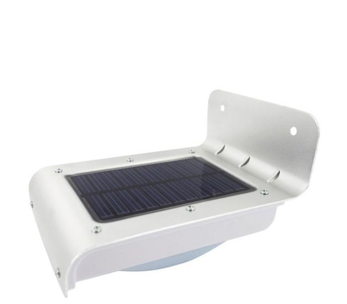 L mpara led solar al aire libre con sensor de movimiento y luz crepuscular mediawavestore - Sensores de movimiento para iluminacion ...