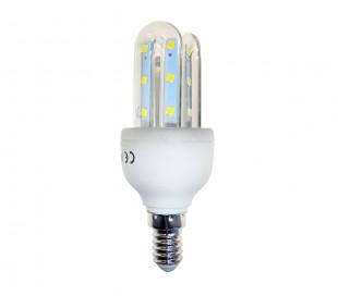 GLED1505 Bombilla STARKEN 3W LED 3 tubos Luz cálida 2900k E27 30000 horas