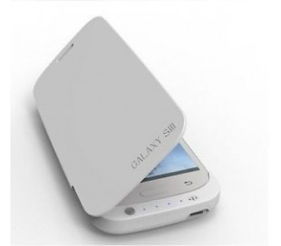 Cargador de batería compatible con Samsung Galaxy S III Negro o Blanco 3200 mAh