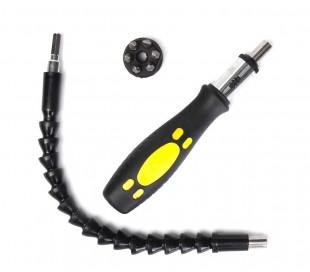 173724 Kit Snaker Extension para taladros y destornilladores 30cm con accesorios
