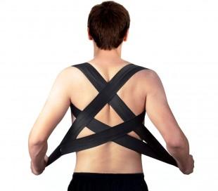 180524 Banda postural para espalda Posturx unisex ajustable por hombros y velcro