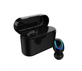 Auriculares con Bluetooth 5.0 de ANDOWL QB01 con base de carga de EDR y iOS PC