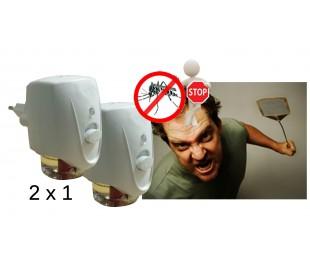 2 Insecticidas de carga eléctrica, repelente de insectos, mosquitos, moscas