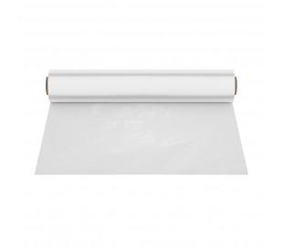 302965 Rollo de mantel encerado 140cm x 50mt en pvc transparente e impermeable
