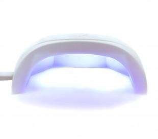 870687 Lámpara para uñas de gel UV 18W 6 LED reconstrucción de uñas portátil