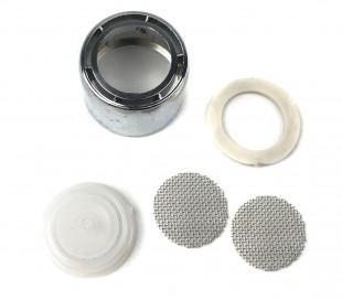 2 filtros de agua para mezcladores y grifos universal de 24mm