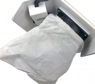 LIDAN Aspiradora para uñas acolchada y 3 bolsas de recogida en TNT