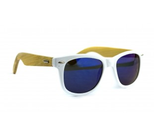 Kit 3x Gafas de sol MWS AHEAD Bamboo unisex Sunglasses lente de color oscuro