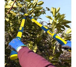 128117 Tijeras largas Oxford para corte de setos de jardín o corte ramas 73 cm