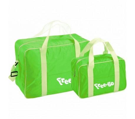 Set 2 bolsas térmicas FREE-GO con 2 asas y correa de hombro - Refrigerante de alimentos y bebidas GB1211002