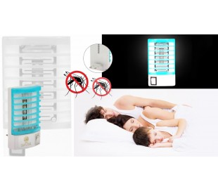Repelente insecticida LED contra insectos mosquitos y moscas a corriente 12V