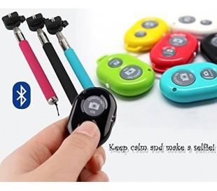 Kit selfie grupal incluye palo asta extensible y control remoto bluethooth
