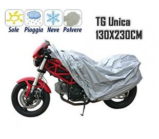 Funda protectora de PVC para la moto 130*230CM - impermeable anti-polvo y suciedad