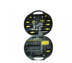 Set 42 destornilladores ck tools cromo vanadio maleta
