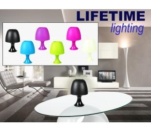 Lámpara de mesa con base y pantalla de plástico / luz decorativa y de relajación LIFETIME