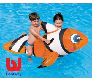 Juguete hinchable para playa y piscina de Nemo