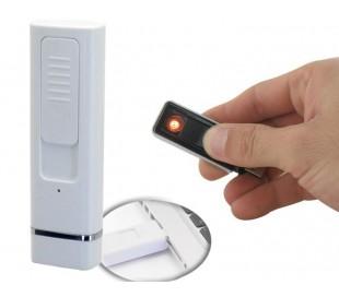 Mechero USB recargable - Sin gas y sin llama y anti-viento YES FIRE