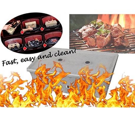 Kit para encender la barbacoa de manera fácil rápida y ecológica - WELKHOME