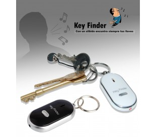 Llavero con silbato encuentra-llaves