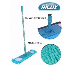 Mopa de microfibra y mango extensible y telescópico con original diseño - RILUX