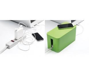 Organizador de cables / Caja para cables (23 x 11 x 12 cm) - CABLE STORAGE BOX
