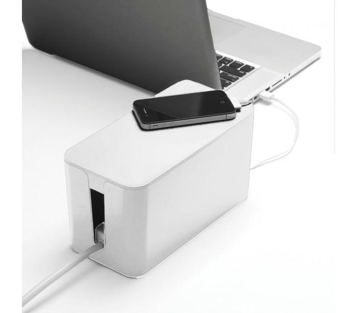 Organizador de cables caja para cables 23 x 11 x 12 cm cable storage box mediawavestorees - Caja para ocultar cables ...