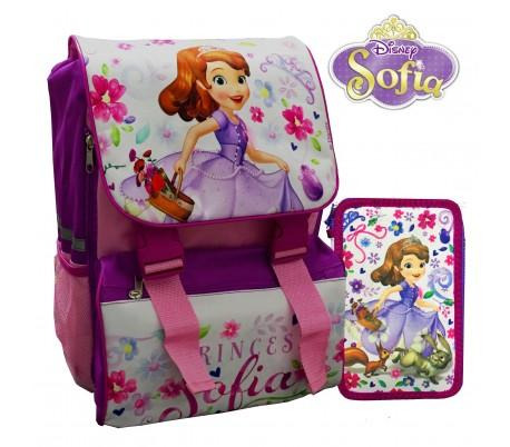 Kit escolar (incluye mochila y material) WD16171 - MINNIE MOUSE de DISNEY