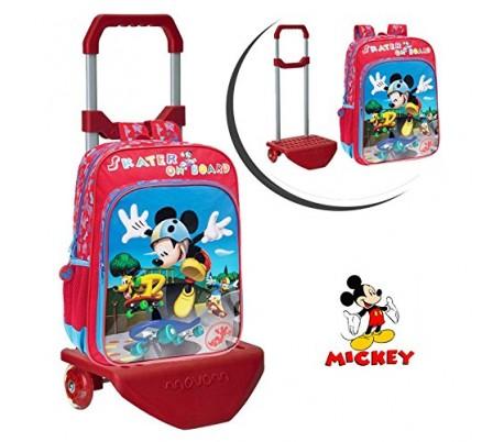 Maleta trolley de viaje de ABS rígido con motivo de MICKEY MOUSE 33 x 55 x 20 cm 4011251 DISNEY
