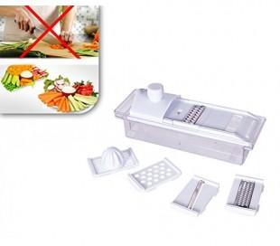 Set 4 recipientes de cristal para especias sal y azúcar 8 x 7,5 cm con tapa