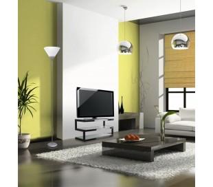 Lámpara de pie (178 cm) de moderno diseño con pantalla de plástico - LIFETIME
