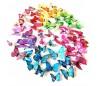 Kit 12 mariposas en 3D adhesivas para la pared - Decoración y muebles para el hogar