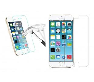 Protector de pantalla de vidrio templado contra roturas y caídas - Para teléfono móvil smartphone Iphone 5 / 5c / 5s