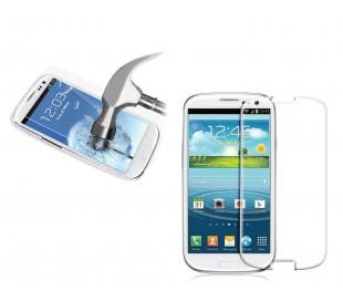 Protector pantalla vidrio templado-Para teléfono móvil smartphone Samsung S3
