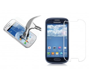 Protector pantalla vidrio templado-Para teléfono móvil Samsung S3 MINI