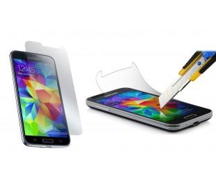 Protector de pantalla de vidrio templado contra roturas y caídas - Para teléfono móvil smartphone Samsung S4 MINI