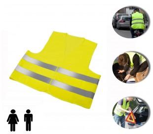 Chaleco reflectante para emergencias (Talla única) - Color amarillo mws1794