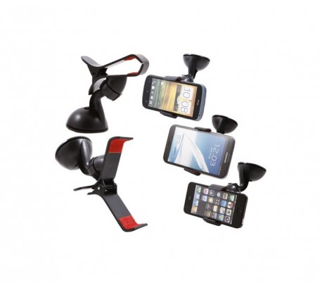 Soporte universal coche smartphone GPS con ventosa modelo nuevo