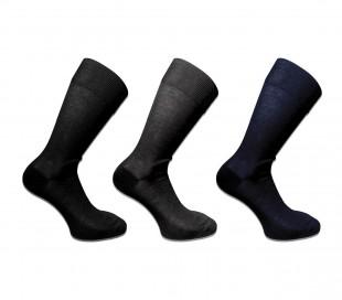 Pack de 6 o 12 pares de calcetines para hombre hechos de hilo de Escocia