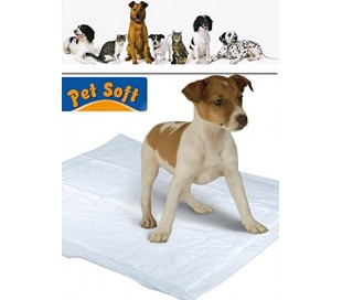 Pack 10 esteras PET SOFT para perros - Súper absorbentes y capturan los olores de las necesidades del animal