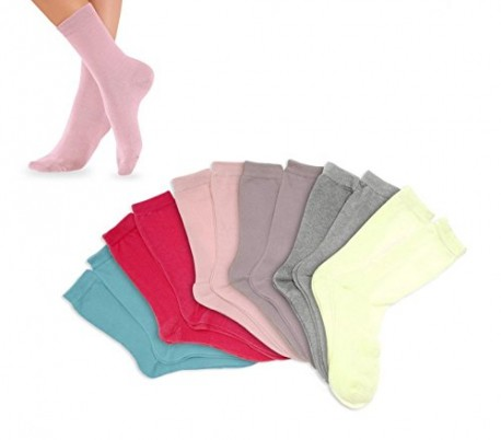 Pack de calcetines infantiles para niña (3 - 6 - 12 unidades) en diferentes colores y tallas