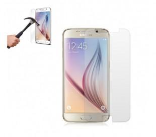 Protector de pantalla templado para smartphone que protege la pantalla contra choques y caídas Samsung S6